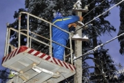 Без электроснабжения остался город Дягтерск на Урале